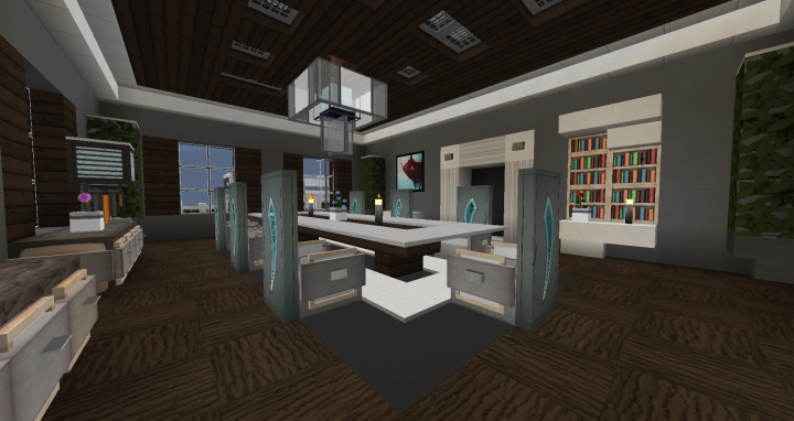 Dining Room Interior Design 1 Minecraft Map