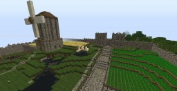 Medieval Village 2.0 Minecraft Map & Project