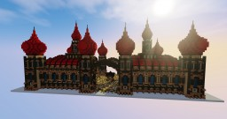Arabian Style Mosque Minecraft Map & Project