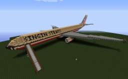 Private Boeing 777-300ER Minecraft Map & Project