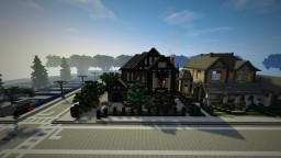 Tudor House Minecraft Map & Project