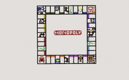 MONOPOLY GAME BOARD IN MINECRAFT! Minecraft Map & Project
