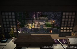 Four seasons of Garden Minecraft Project