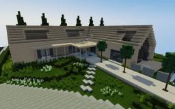Echarde - Modern House #2 Minecraft Map & Project