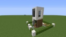 Modem House 4x4 Minecraft Map & Project