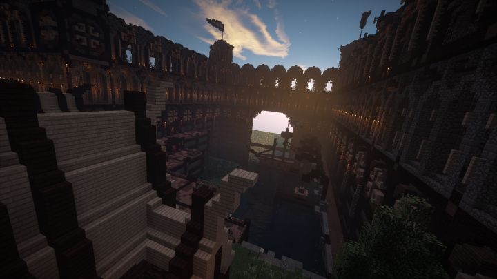 Empire of Stone: Obey Build Team Minecraft Project