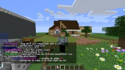 Aphmau and Garroth replica houses build by laurence______ Minecraft
