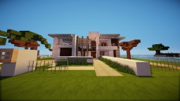 Little Modern Mansion///Modern Fun Projekt Minecraft Project