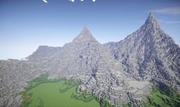 Mountain village Minecraft Project