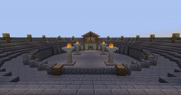Medieval Arena Minecraft Map & Project