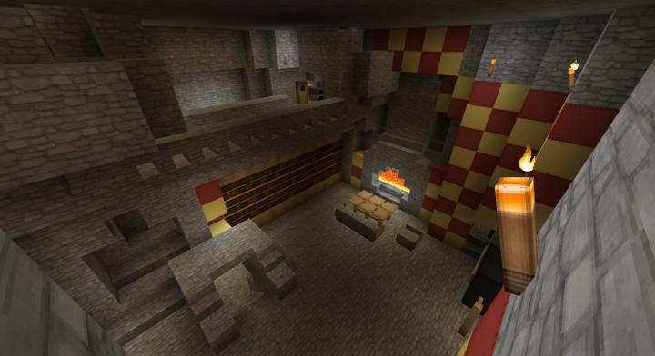 Gryffindor Common Room Minecraft School In General -- S...