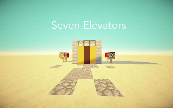 Seven Elevators 1 10 Fixed Minecraft Project