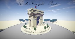 Arc de Triomphe - Paris Minecraft Project