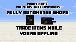 Automated Redstone Shops - Trade with other players while you're offline! Minecraft Blog