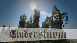 Cindersturm // Steampunk-styled City Minecraft Map & Project
