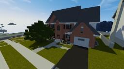 Traditonal House Interior #3   ECS Minecraft Map & Project