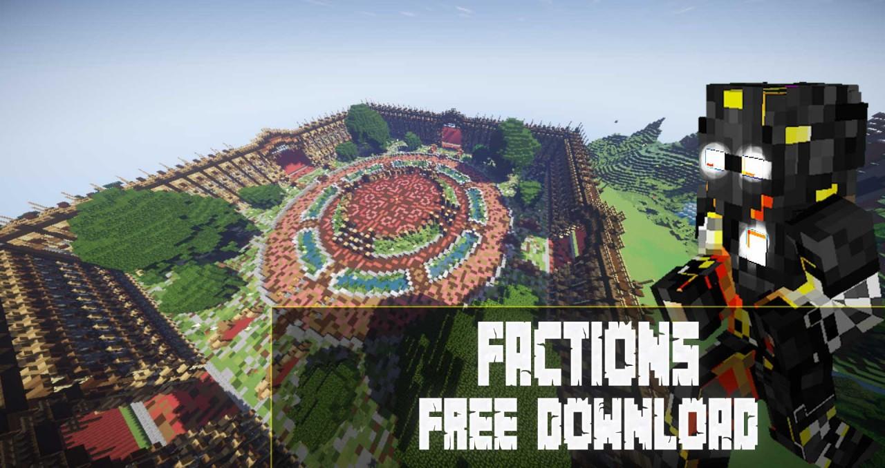 Minecraft Free Maps D Earth Map - Minecraft factions spielen
