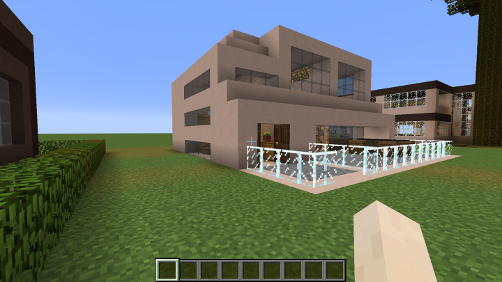 Modern houses minecraft project for Modern house projects