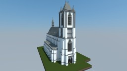 Realistic Gothic Church (scale 2:1) Minecraft Map & Project