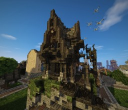 Mighty Mage's #WeAreConquest Minecraft Map & Project