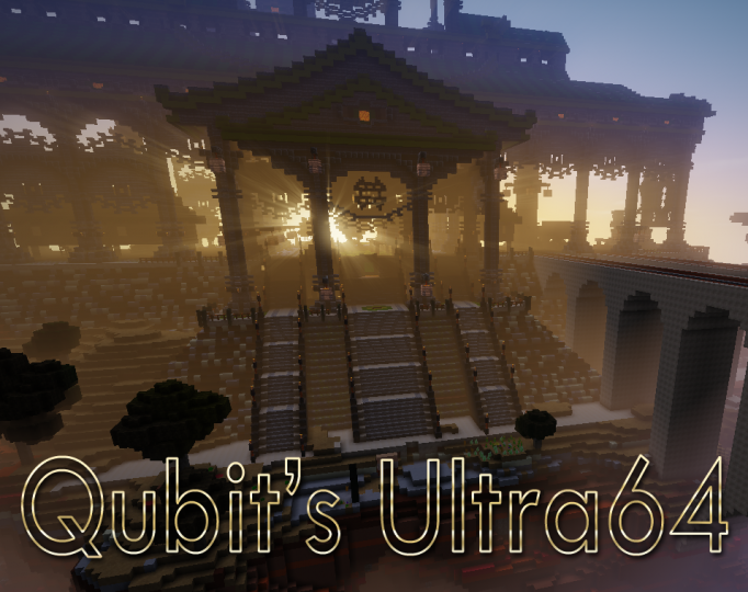 Popular Texture Pack : Qubit's Ultra64