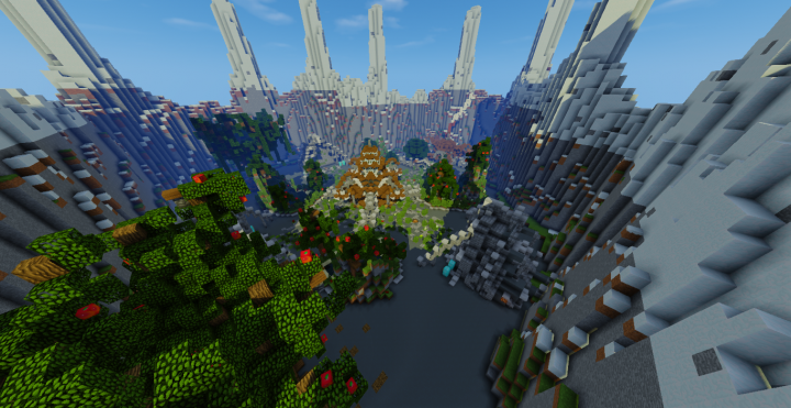 Minecraft Hub Lobby Server Map Download Minecraft Project