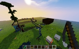 Glassy Horse Racing Track v.2 Minecraft Map & Project