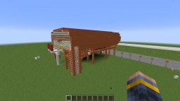 Maglev + Station Minecraft Map & Project