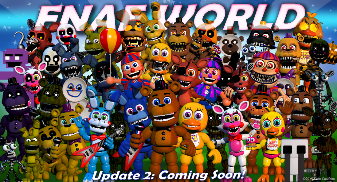 fnaf world how to get auto gift boxes