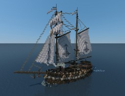 S.S. Rusty Gaff Minecraft Project