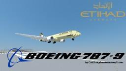 [Download] Boeing 787-9 V2 - Etihad Airways Minecraft Map & Project