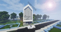 Town House | Modern House Minecraft Map & Project