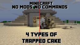 Cake Traps (Cake Bomb, Poison Cake, Lava Cake, & Wither Cake) Minecraft Blog