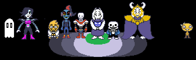undertale how to get to the end