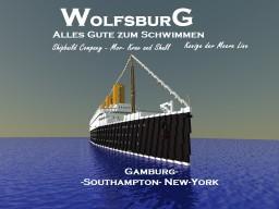 Germany ocean liner SS Wolfsburg