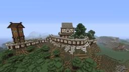 Wachiyama Castle Minecraft Map & Project