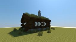 Norwegian Log Cabin Minecraft Map & Project