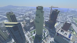 GTA V In Minecraft | 12288x12288 blocks | MASSIVE PROJECT Minecraft