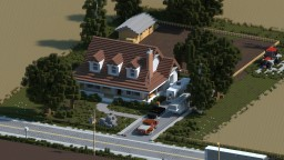 Farm house | Hamford County | OR Minecraft