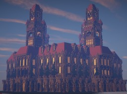Clocktower Cathedral Minecraft