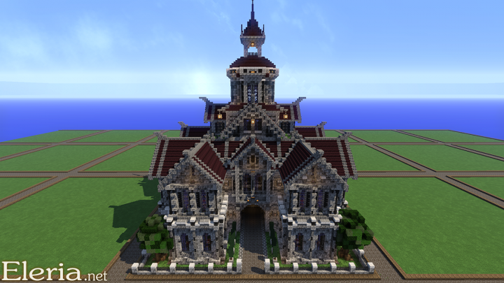Baroque Mansion 3 Minecraft Project