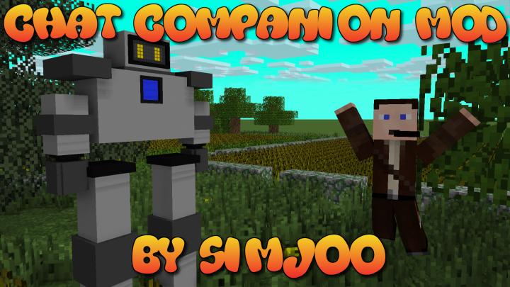 1 8 9 1 8 1 7 10 chat companion mod by simjoo minecraft mod