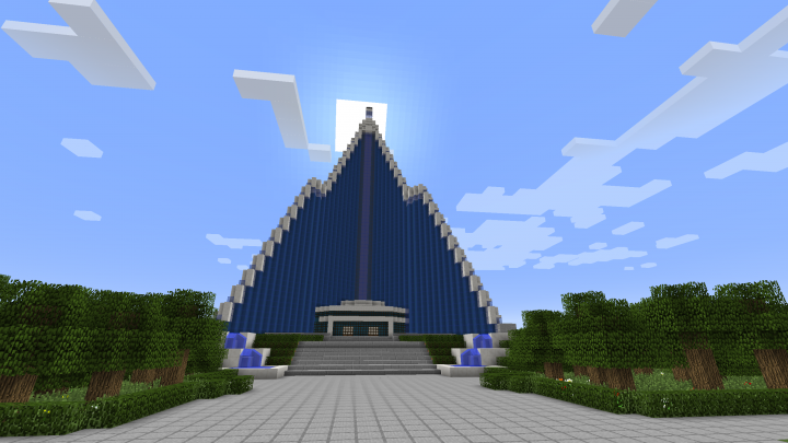 Pyongyang In Minecraft Minecraft Project
