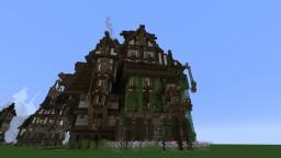 SteampunkFantasy house Minecraft