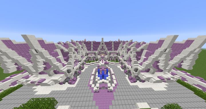 Unicorn Palace Minecraft Project