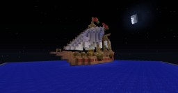 "Segelschiff/sailing ship ""Mauritius"" Minecraft Map & Project"
