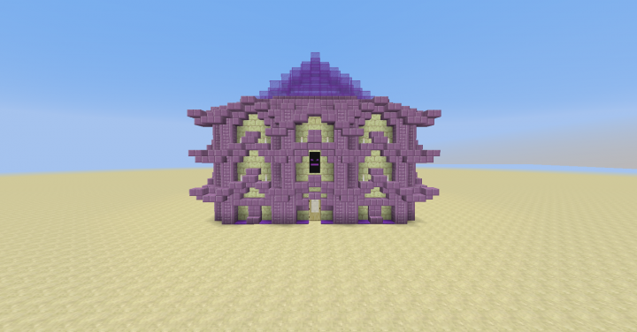 End House Minecraft Map