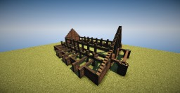 Meduseld - The Golden Hall of Edoras Minecraft Project