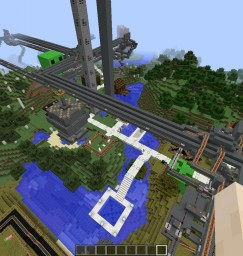 The Super Park Minecraft Map & Project