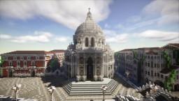 Venice -Basilica di Santa Maria della Salute- Minecraft